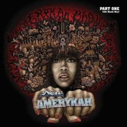 Bestselling Music (2008) - New Amerykah, Pt. 1: 4th World War by Erykah Badu