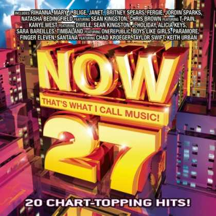 Bestselling Music (2008) - Now That's What I Call Music Vol. 27 by Various Artists