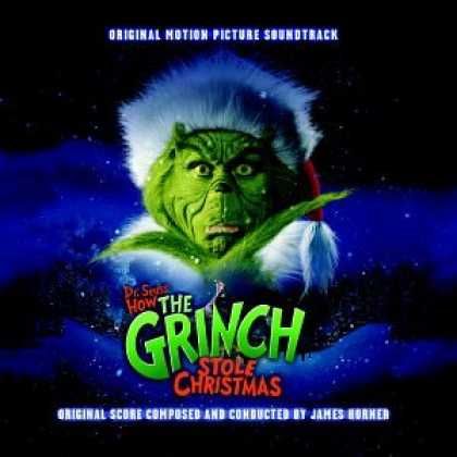 Bestselling Music (2008) - How the Grinch Stole Christmas: Original Motion Picture Soundtrack (2000 Film)