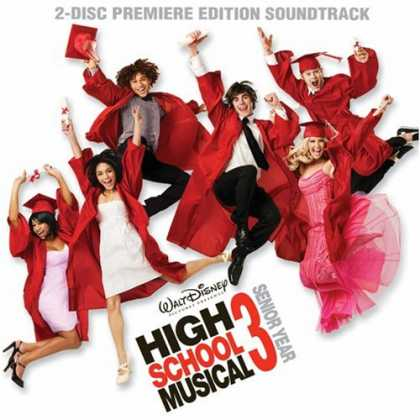 Bestselling Music (2008) - High School Musical 3: Senior Year Premiere Edition [CD+DVD] by Soundtrack