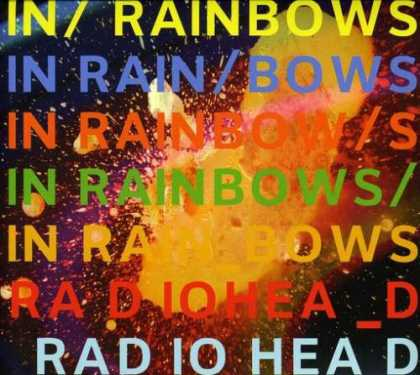 Bestselling Music (2008) - In Rainbows by Radiohead