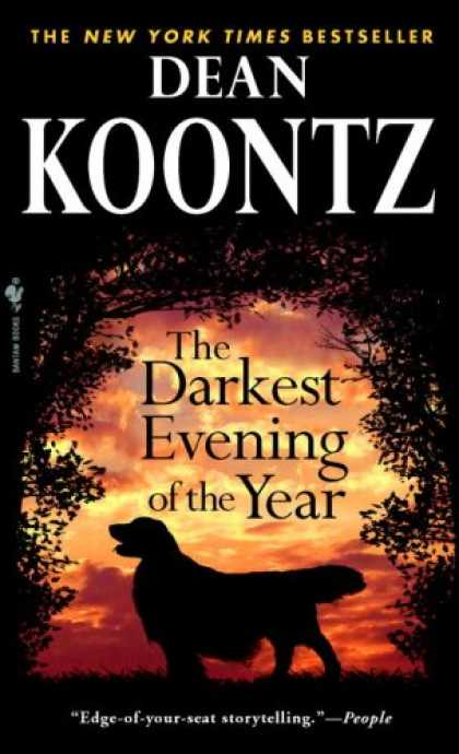 Bestselling Mystery/ Thriller (2008) - The Darkest Evening of the Year by Dean Koontz