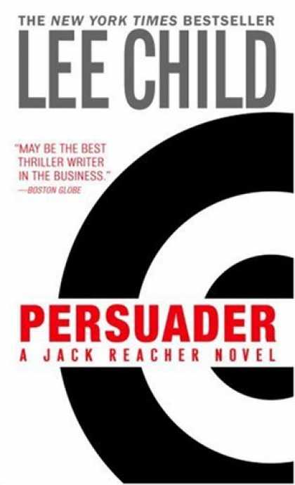 Bestselling Mystery/ Thriller (2008) - Persuader (Jack Reacher, No. 7) by Lee Child