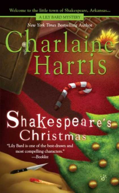 Bestselling Mystery/ Thriller (2008) - Shakespeare's Christmas (Lily Bard Mysteries, Book 3) by Charlaine Harris
