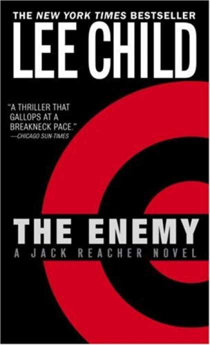 Bestselling Mystery/ Thriller (2008) - The Enemy (Jack Reacher, No. 8) by Lee Child