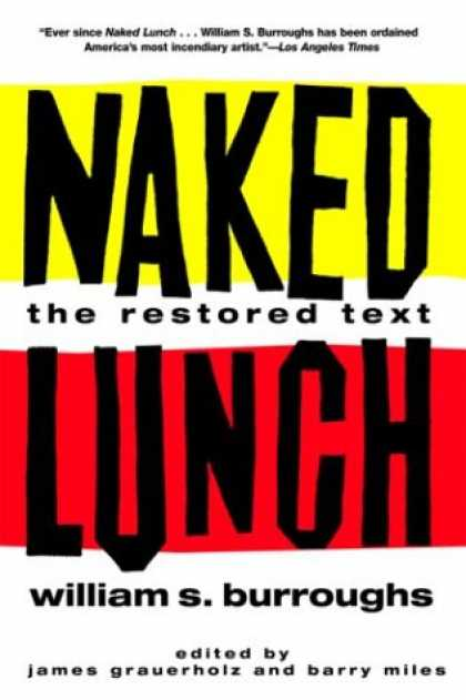 Bestselling Mystery/ Thriller (2008) - Naked Lunch: The Restored Text by William S. Burroughs