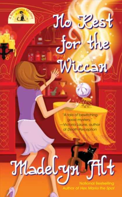 Bestselling Mystery/ Thriller (2008) - No Rest for the Wiccan (Bewitching Mysteries, No. 4) by Madelyn Alt