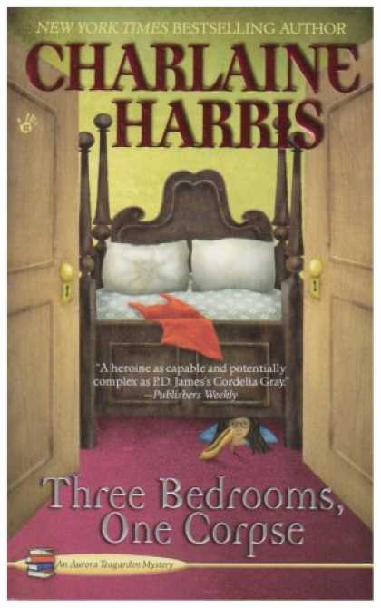 Bestselling Mystery/ Thriller (2008) - Three Bedrooms, One Corpse (Aurora Teagarden Mysteries, Book 3) by Charlaine Har