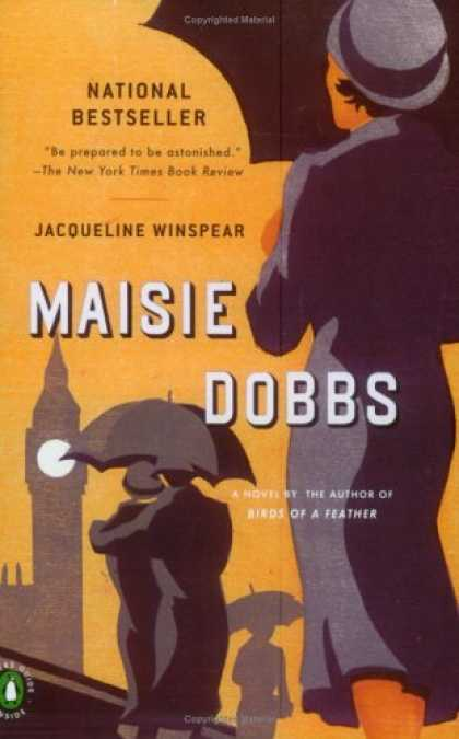 Bestselling Mystery/ Thriller (2008) - Maisie Dobbs by Jacqueline Winspear
