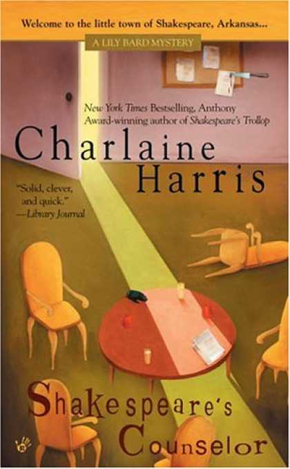 Bestselling Mystery/ Thriller (2008) - Shakespeare's Counselor (Lily Bard Mysteries, Book 5) by Charlaine Harris