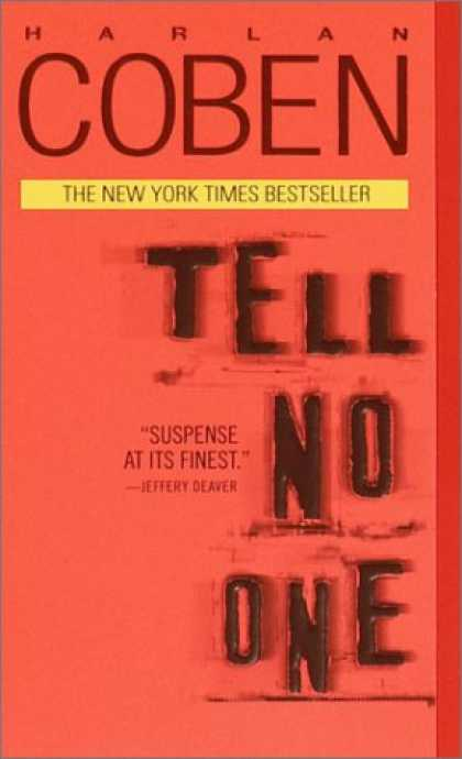 Bestselling Mystery/ Thriller (2008) - Tell No One by Harlan Coben