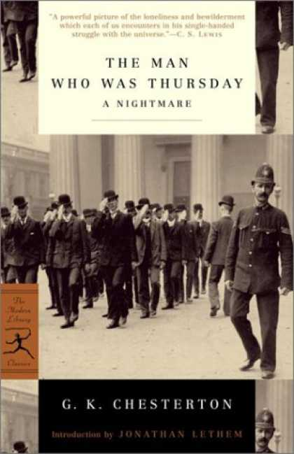 Bestselling Mystery/ Thriller (2008) - The Man Who Was Thursday: A Nightmare (Modern Library Classics) by G.K. Chestert