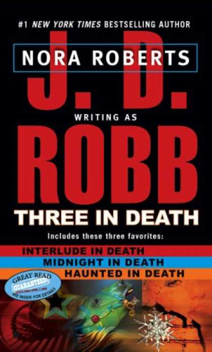 Bestselling Mystery/ Thriller (2008) - Three in Death by J.D. Robb