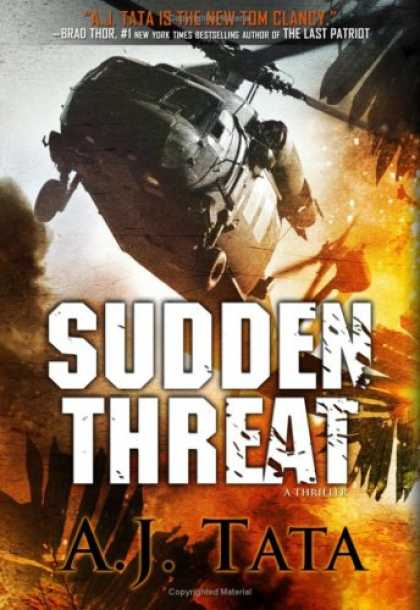Bestselling Mystery/ Thriller (2008) - Sudden Threat by A. J. Tata