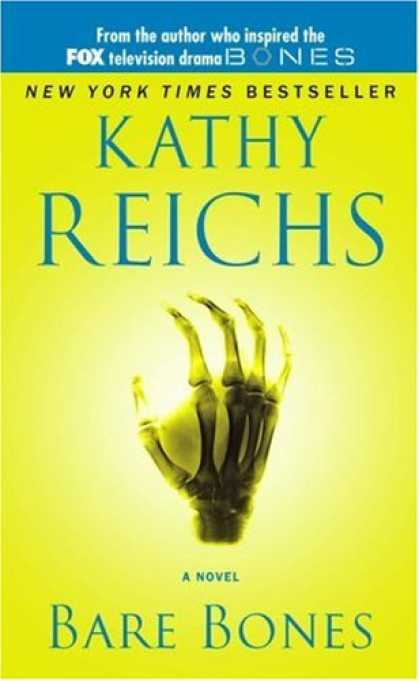 Bestselling Mystery/ Thriller (2008) - Bare Bones: A Novel (Temperance Brennan Novels) by Kathy Reichs