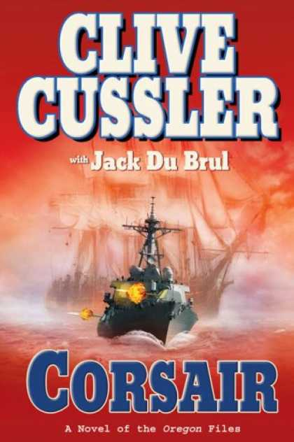 Bestselling Mystery/ Thriller (2008) - Corsair (Oregon Files) by Clive Cussler