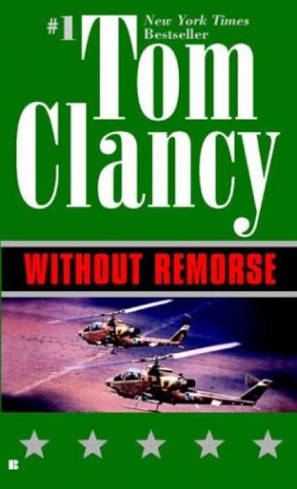 Bestselling Mystery/ Thriller (2008) - Without Remorse by Tom Clancy