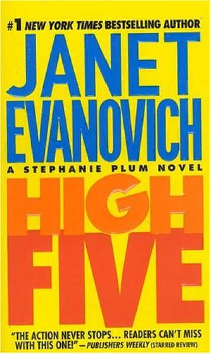 Bestselling Mystery/ Thriller (2008) - High Five (Stephanie Plum, No. 5) by Janet Evanovich