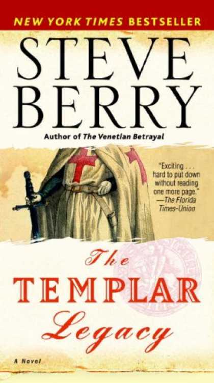 Bestselling Mystery/ Thriller (2008) - The Templar Legacy: A Novel by Steve Berry