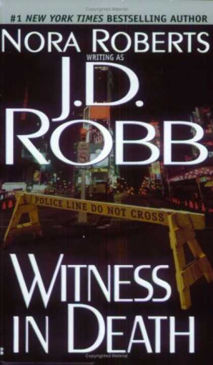 Bestselling Mystery/ Thriller (2008) - Witness in Death by J.D. Robb