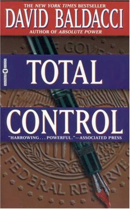 Bestselling Mystery/ Thriller (2008) - Total Control by David Baldacci