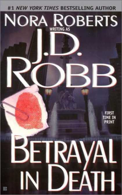 Bestselling Mystery/ Thriller (2008) - Betrayal in Death by J.D. Robb