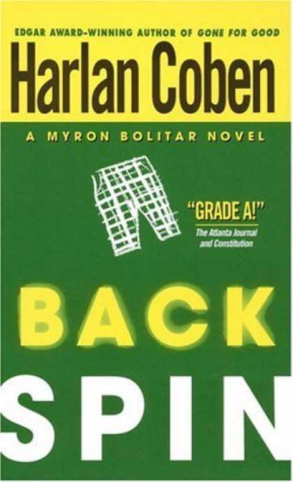 Bestselling Mystery/ Thriller (2008) - Back Spin (Myron Bolitar) by Harlan Coben