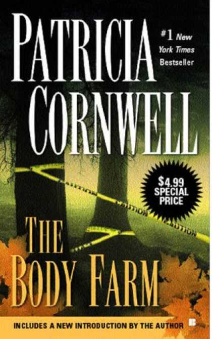 Bestselling Mystery/ Thriller (2008) - The Body Farm (Kay Scarpetta) by Patricia Cornwell