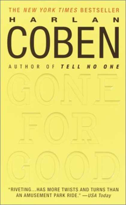 Bestselling Mystery/ Thriller (2008) - Gone for Good by Harlan Coben