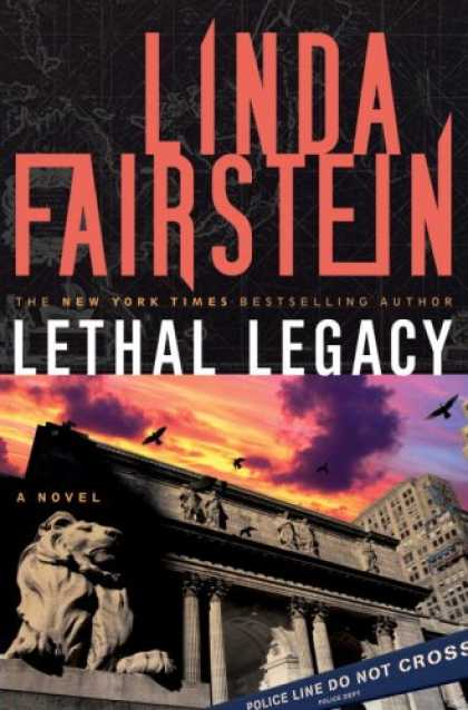 Bestselling Mystery/ Thriller (2008) - Lethal Legacy: A Novel (Alexandra Cooper) by Linda Fairstein