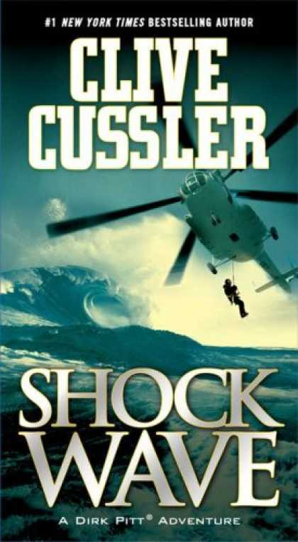 Bestselling Mystery/ Thriller (2008) - Shock Wave (Dirk Pitt Adventure) by Clive Cussler