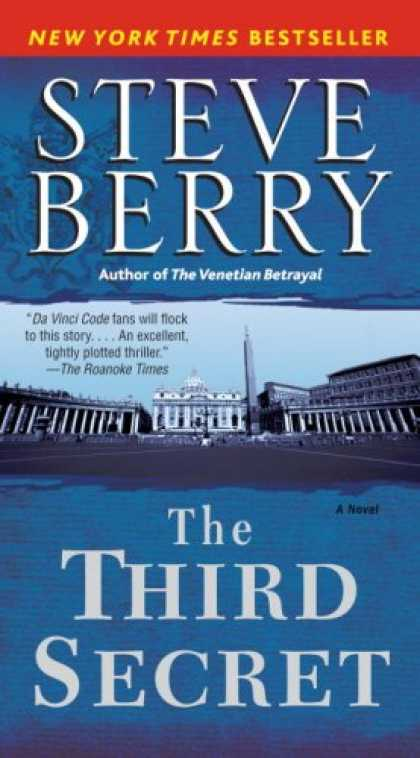 Bestselling Mystery/ Thriller (2008) - The Third Secret: A Novel by Steve Berry