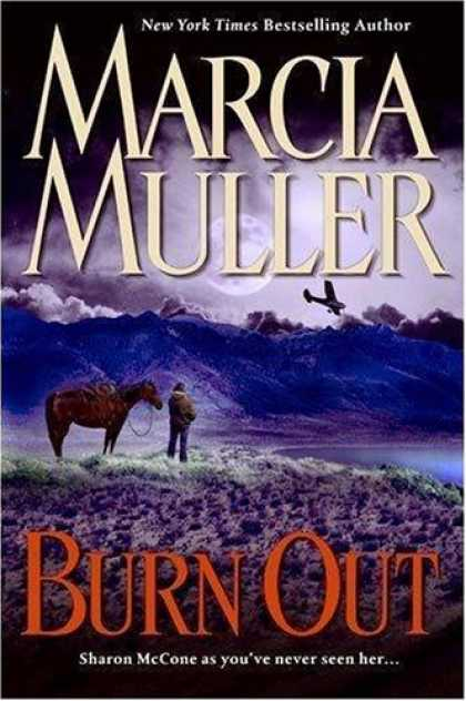 Bestselling Mystery/ Thriller (2008) - Burn Out by Marcia Muller