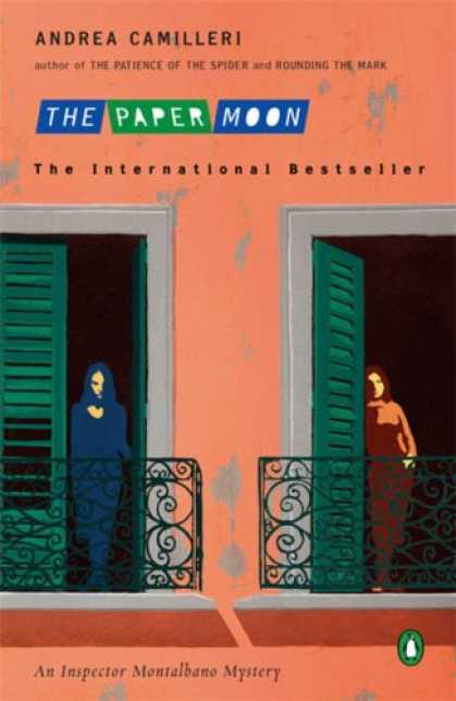 Bestselling Mystery/ Thriller (2008) - The Paper Moon (Inspector Montalbano Mysteries) by Andrea Camilleri