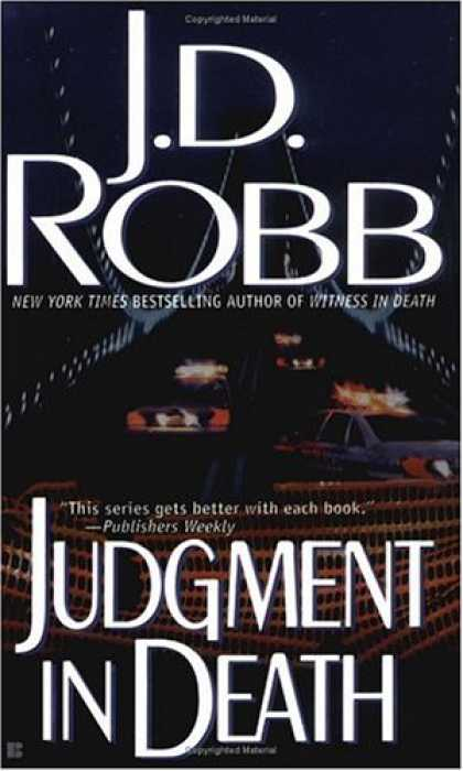Bestselling Mystery/ Thriller (2008) - Judgment in Death by J.D. Robb