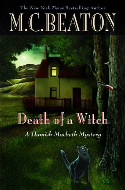 Bestselling Mystery/ Thriller (2008) - Death of a Witch (Hamish Macbeth Mysteries, No. 25) by M. C. Beaton