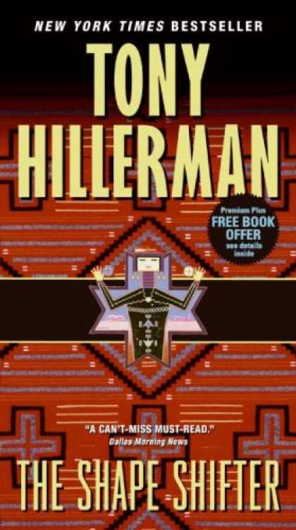 Bestselling Mystery/ Thriller (2008) - The Shape Shifter by Tony Hillerman