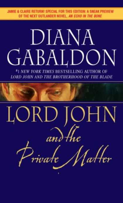 Bestselling Mystery/ Thriller (2008) - Lord John and the Private Matter by Diana Gabaldon