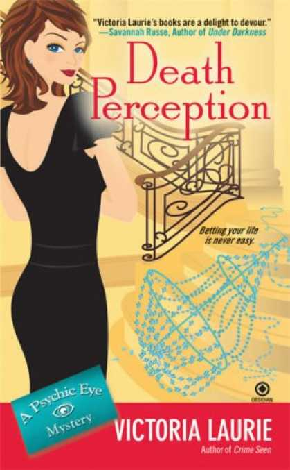 Bestselling Mystery/ Thriller (2008) - Death Perception (Psychic Eye Mysteries, Book 6) by Victoria Laurie
