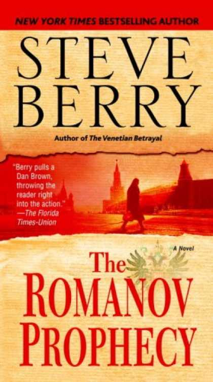 Bestselling Mystery/ Thriller (2008) - The Romanov Prophecy: A Novel by Steve Berry