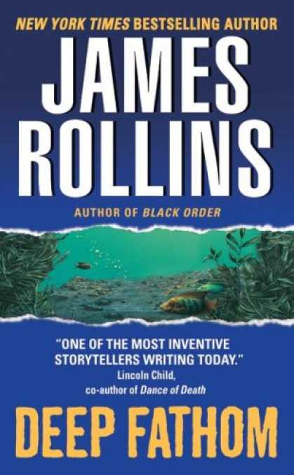 Bestselling Mystery/ Thriller (2008) - Deep Fathom by James Rollins