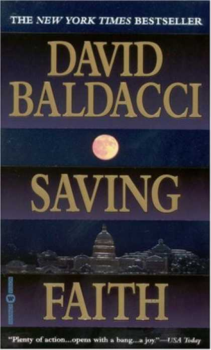 Bestselling Mystery/ Thriller (2008) - Saving Faith by David Baldacci