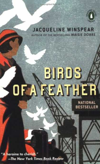 Bestselling Mystery/ Thriller (2008) - Birds of a Feather (Maisie Dobbs Mysteries) by Jacqueline Winspear