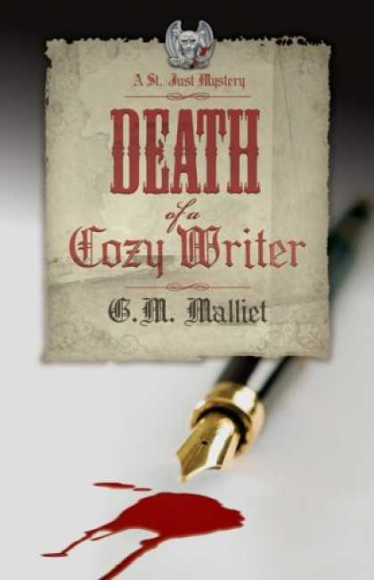 Bestselling Mystery/ Thriller (2008) - Death of a Cozy Writer: A St. Just Mystery by G.M. Malliet