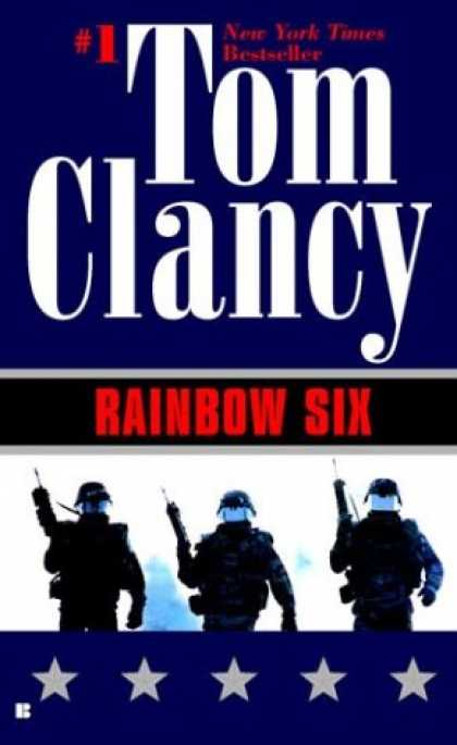 Bestselling Mystery/ Thriller (2008) - Rainbow Six by Tom Clancy
