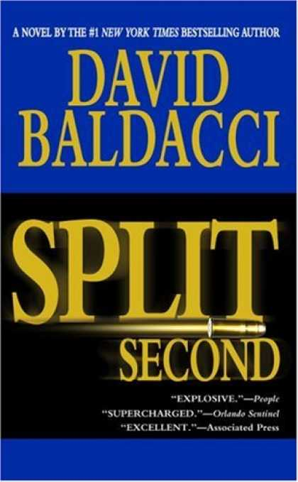 Bestselling Mystery/ Thriller (2008) - Split Second by David Baldacci