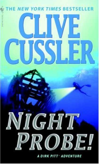 Bestselling Mystery/ Thriller (2008) - Night Probe! by Clive Cussler