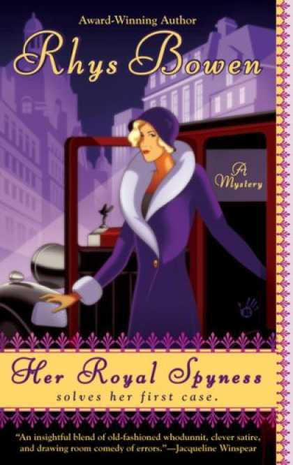 Bestselling Mystery/ Thriller (2008) - Her Royal Spyness (A Royal Spyness Mystery) by Rhys Bowen