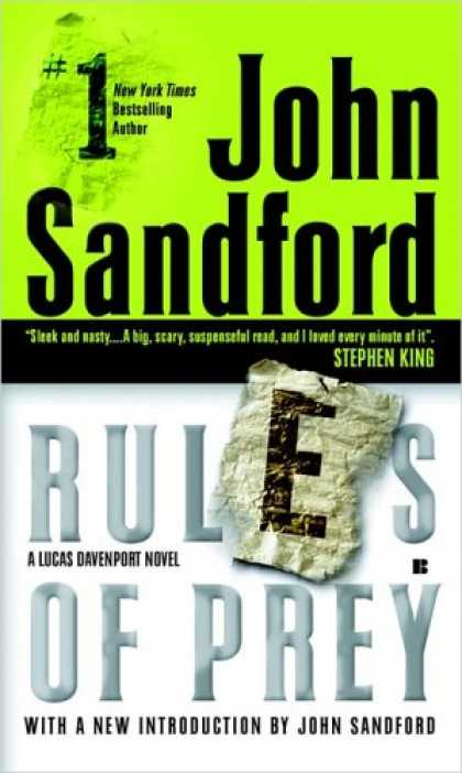 Bestselling Mystery/ Thriller (2008) - Rules of Prey by John Sandford