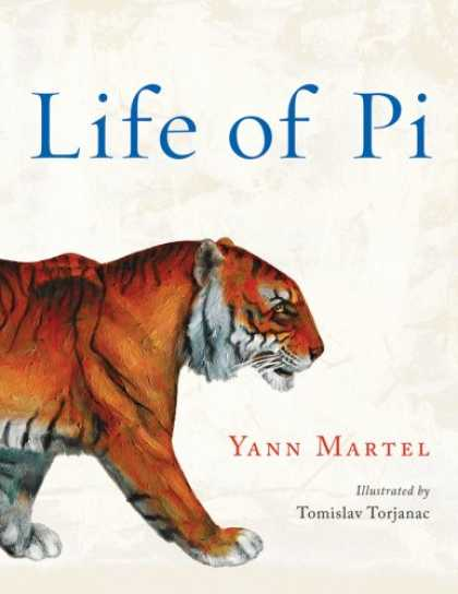 Bestselling Mystery/ Thriller (2008) - Life of Pi: Deluxe Illustrated Edition by Yann Martel